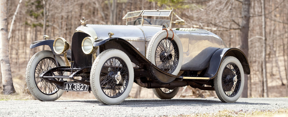 World's Oldest Bentley Sold at Pebble Beach