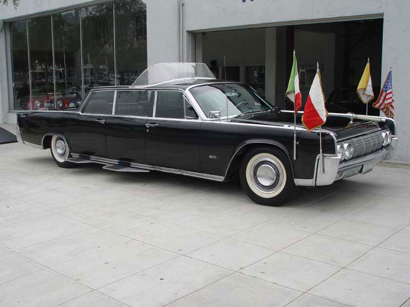 1964 Lincoln Continental Popemobile