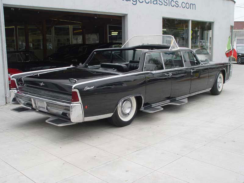 bonhams to sell 1964 lincoln continental popemobile extravaganzi. Black Bedroom Furniture Sets. Home Design Ideas