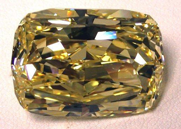 43-Carat Fancy Yellow Diamond