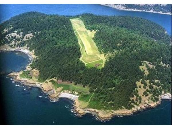 Allan Island - Paul Allen Private Island