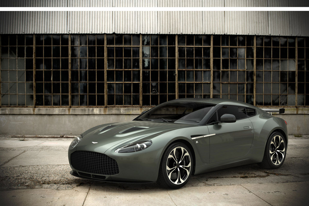 Roadgoing Aston Martin V12 Zagato