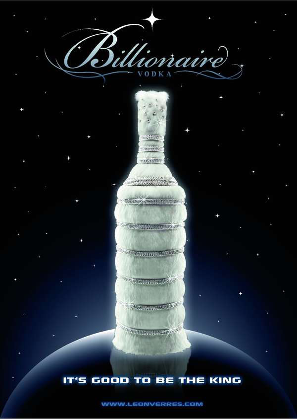 Billionaire Vodka by Leon Verres