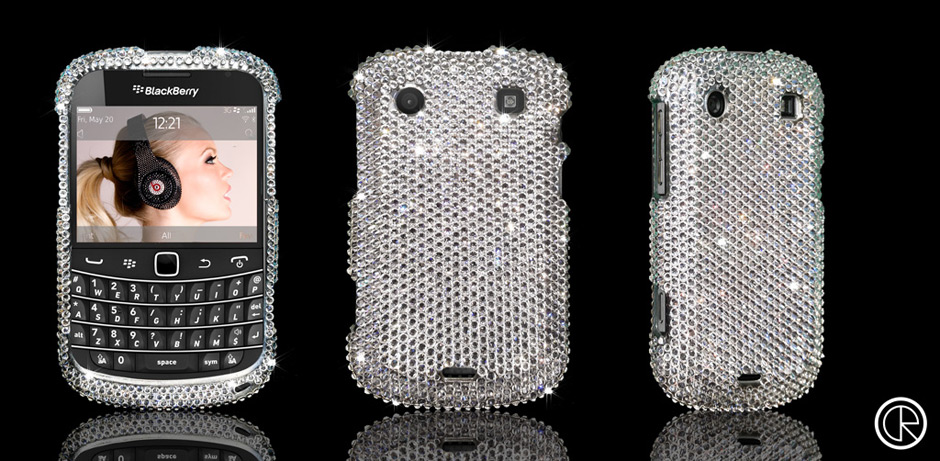 Dazzling Blackberry Bold 9900 With Swarovski Crystals