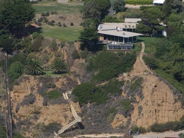 Brad Pitt Malibu Beach House