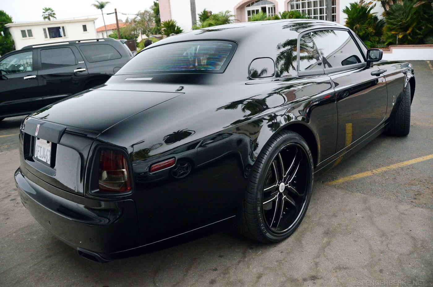 Carbon Fiber Rolls Royce Phantom Coupe Extravaganzi