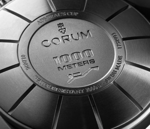 Corum Admiral Cup Seafender 48 Deep Dive in Titanium