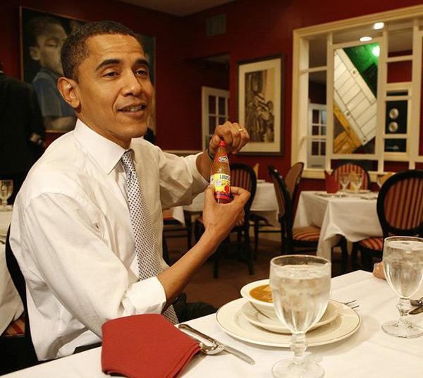 Dinner with President Barack Obama
