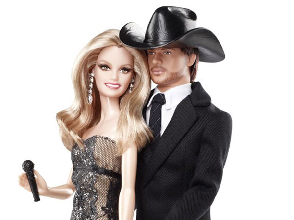 Faith Hill And Tim McGraw Barbie Doll