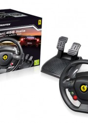 Ferrari 458 Italia Racing Wheel For the Xbox 360