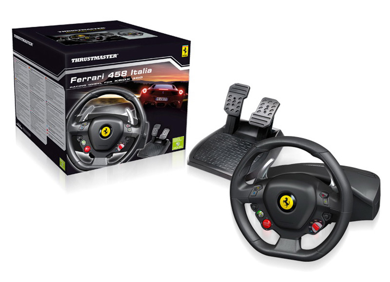Ferrari 458 Italia Racing Wheel For The Xbox 360 Extravaganzi