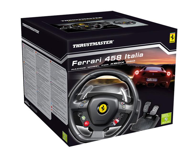 Ferrari 458 Italia Racing Wheel For The Xbox 360