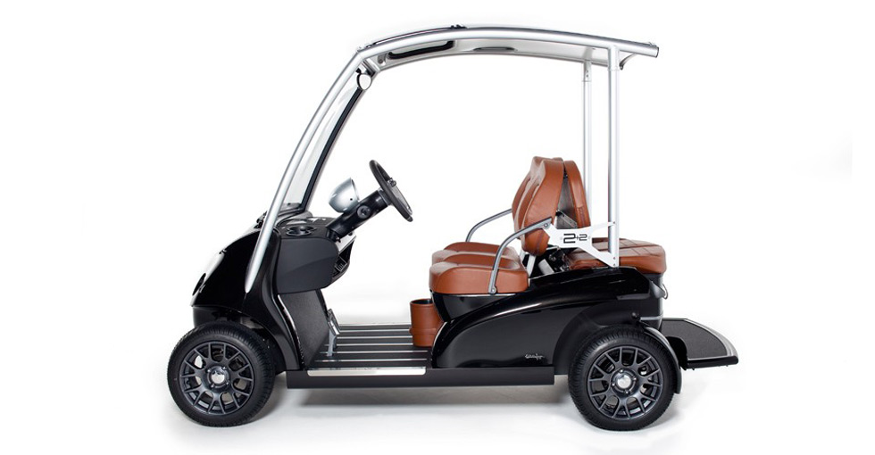 Garia 2+2 &#8211; Porsche of the Golf Cart