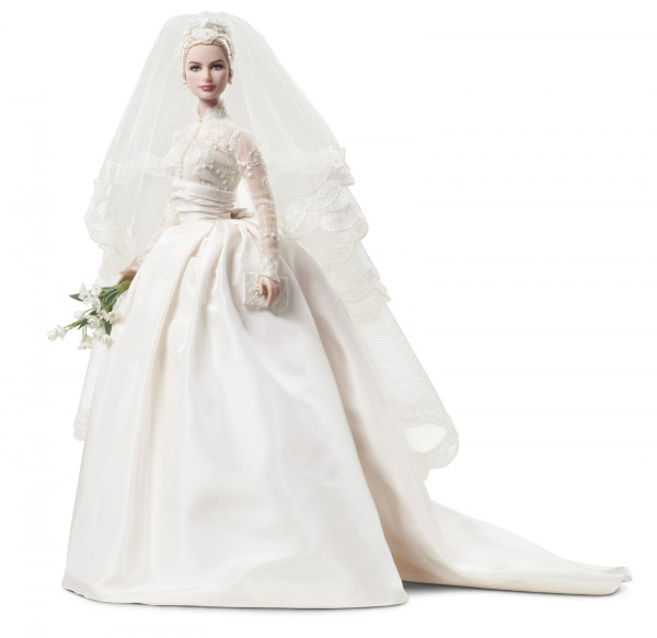Grace Kelly Bride Barbie Doll