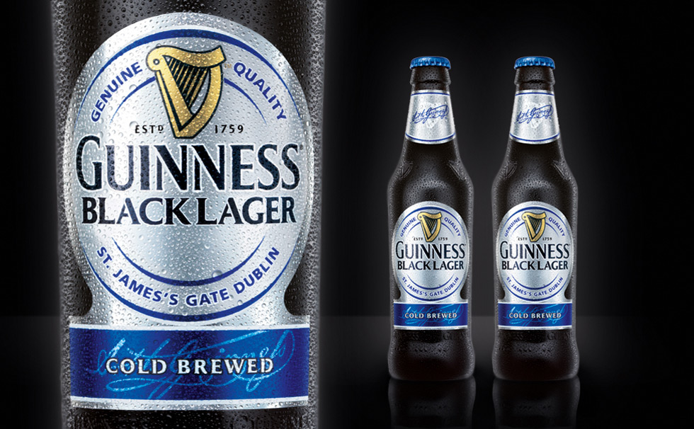 Guinness Launches New Black Lager Across US In September