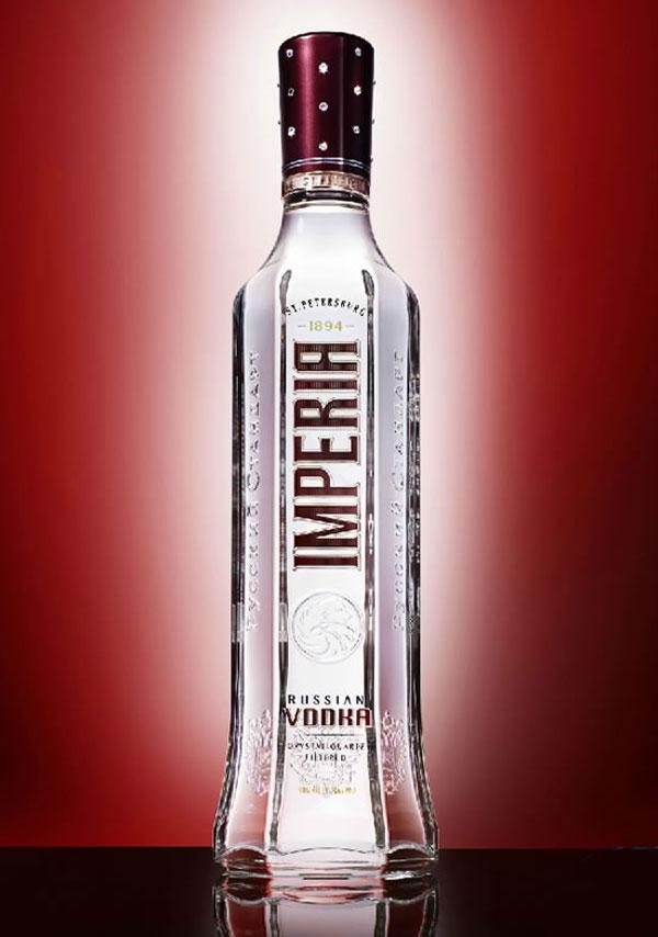 Russian Standar Imperia Vodka - Swarovski Crystal Crown Edition