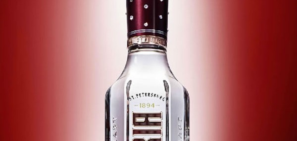 Limited Edition Imperia Vodka With Swarovski Crystal Crown