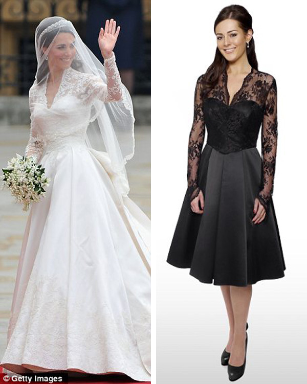 Pippa Middleton S Royal Wedding Dress Replica Goes On Sale