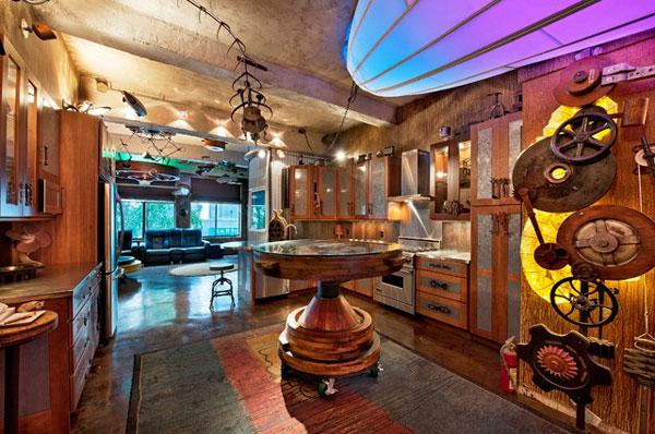 Jeremy Noritz's Steampunk Apartment in New York