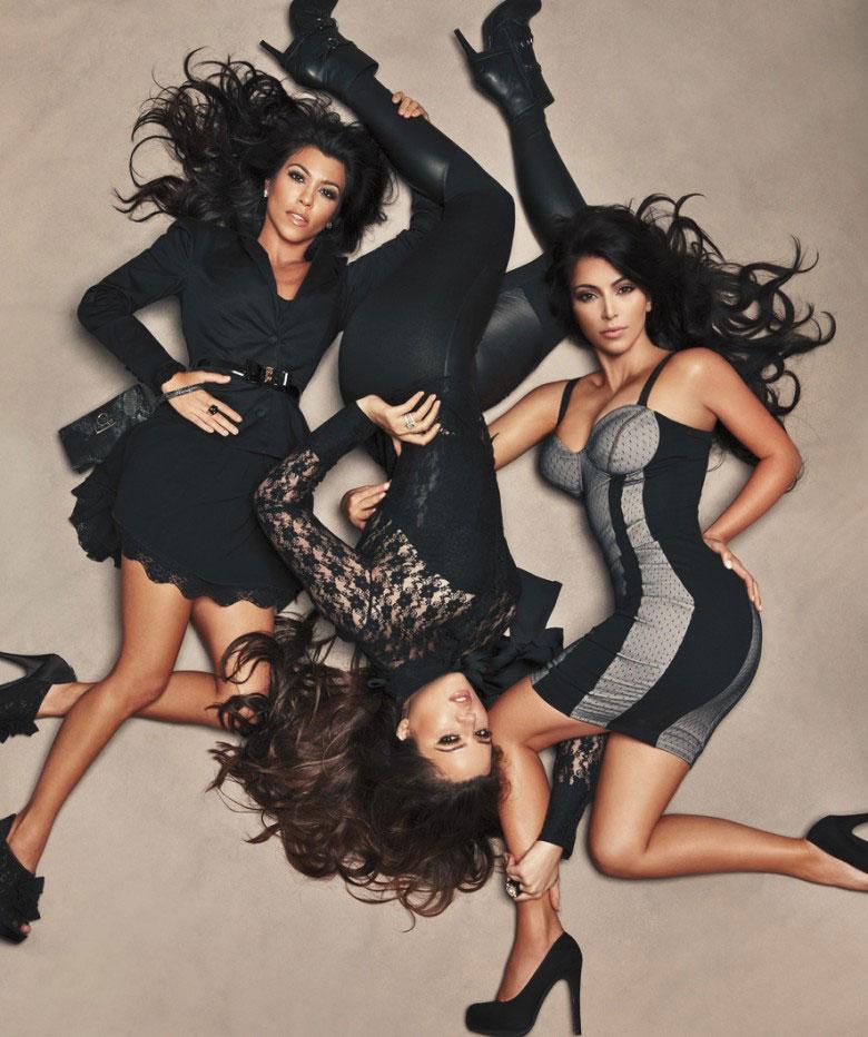 The official Kardashian Kollection by Khloe, Kourtney and Kim Kardashian.