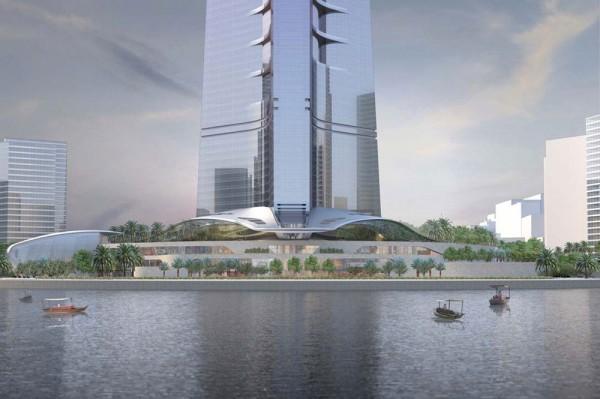 Kingdom Tower - Jeddah, Saudi Arabia