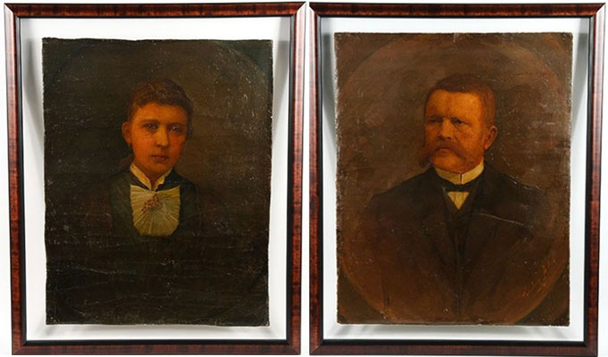 Two Paintings of Hitler&#8217;s Parents go up for Auction