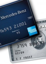 Mercedes-Benz American Express Cards