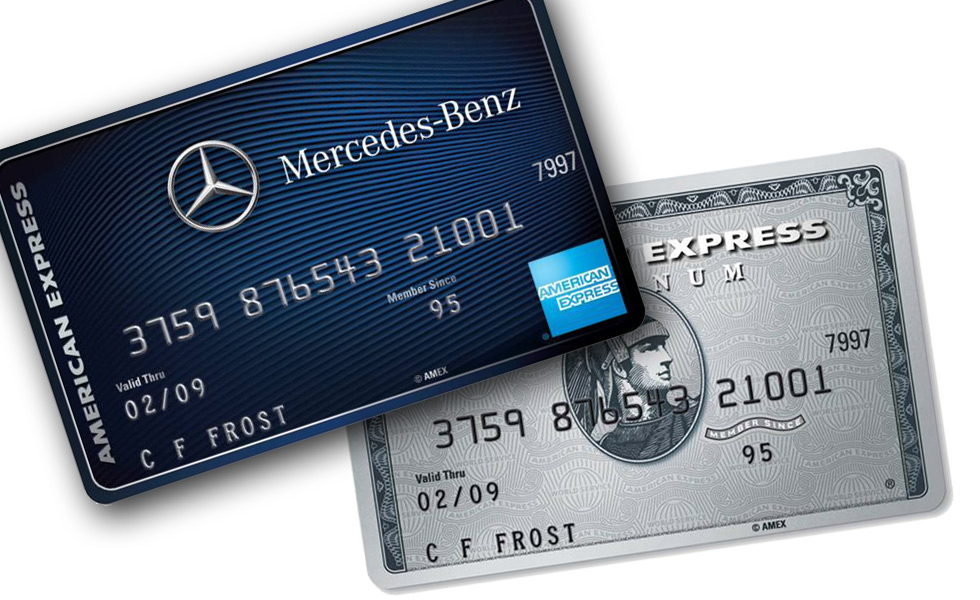 Mercedes internet credit cards uk for Mercedes benz membership