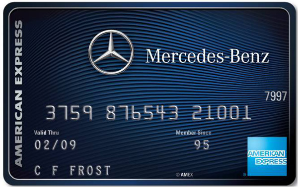 Mercedes-Benz Credit Card from American Express