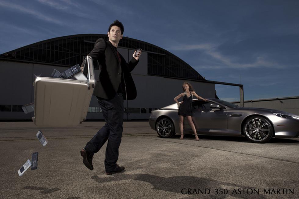 The Grand 350 Aston Martin