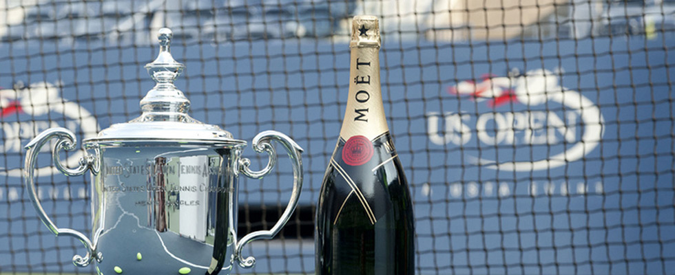 Moët & Chandon – Official Champagne Of The 2011 US Open