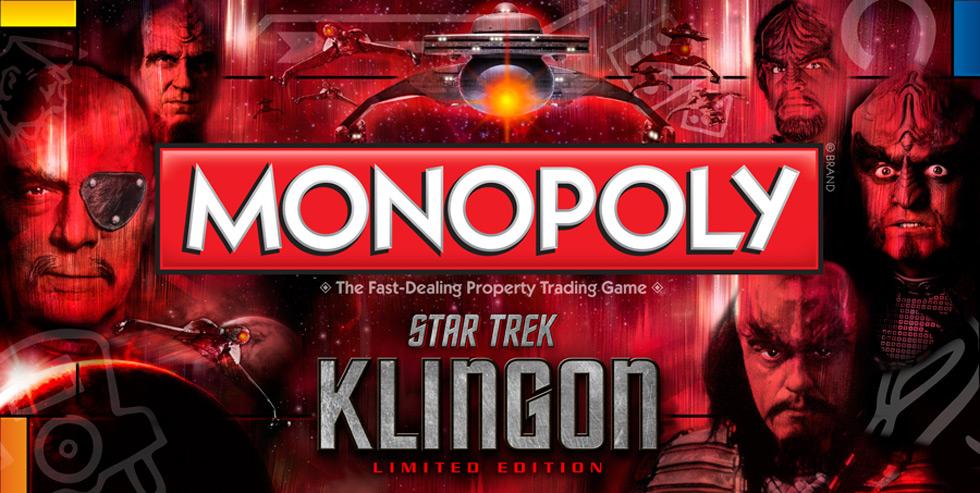 Monopoly: Star Trek Klingon Edition