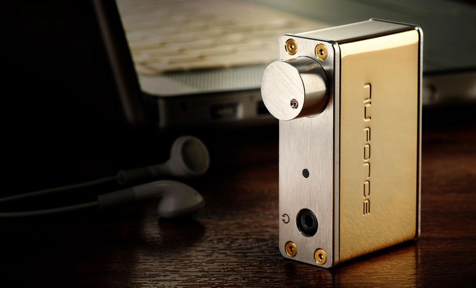 Gold USB Digital Audio Converter (DAC) with Swarovski Crystal