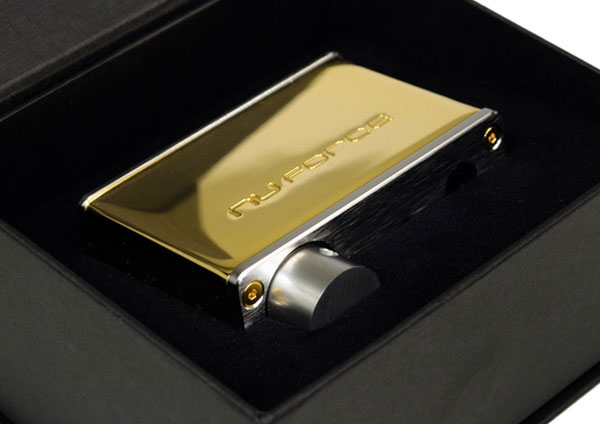NuForce Gold-Plated Crystal-Studded USB Audio Device