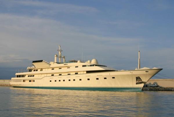 Prince Al Waleed bin Talal Alsaud's Kingdom 5KR Yacht
