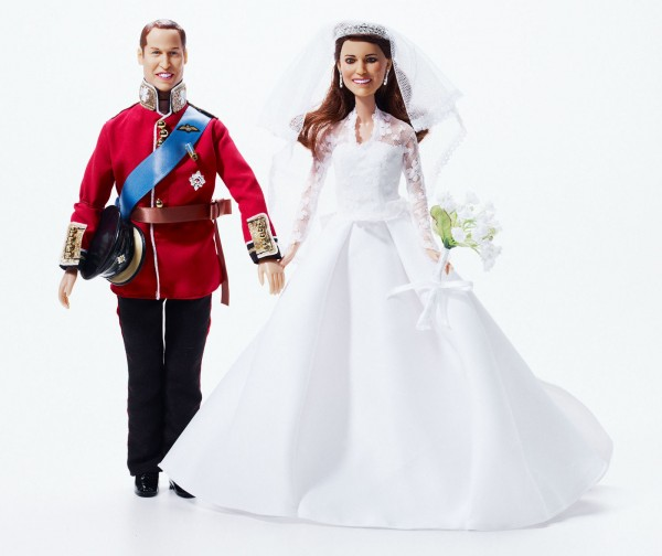 Prince William and Kate Wedding Dolls