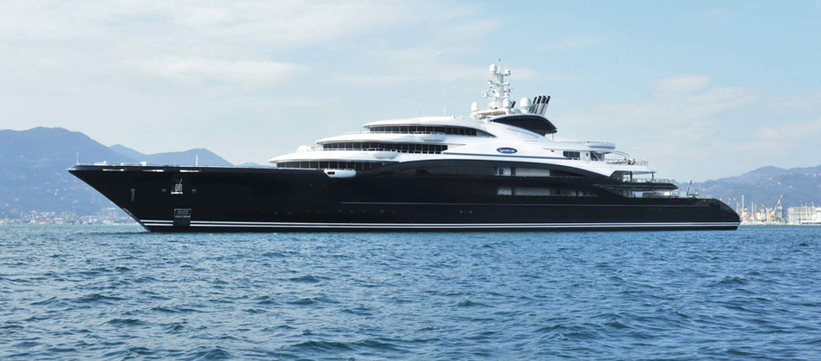 440ft. Serene, World's 9th Largest Yacht
