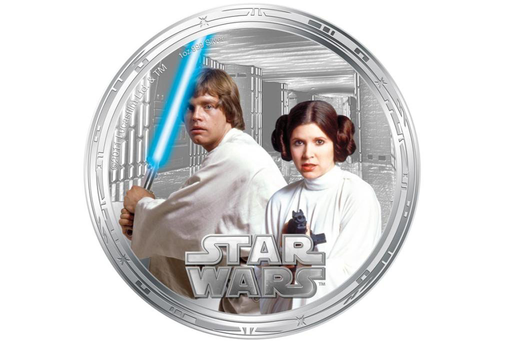 Star Wars Character Coins