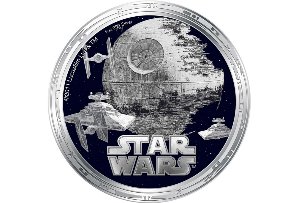 Star Wars Characters Come Printed On Coins Extravaganzi