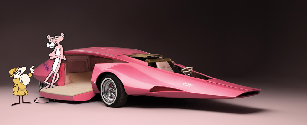 The Original Pink Panther Panthermobile
