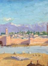 The Tower of Katoubia Mosque by Winston Churchill