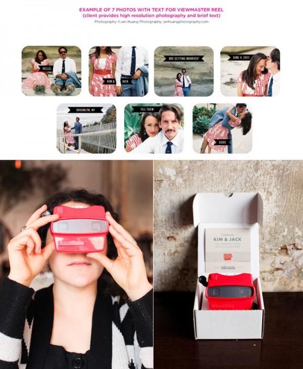 View-Master 3D Wedding Invitations