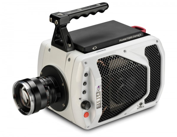 Vision Research's Phantom v1610 high-speed digital camera