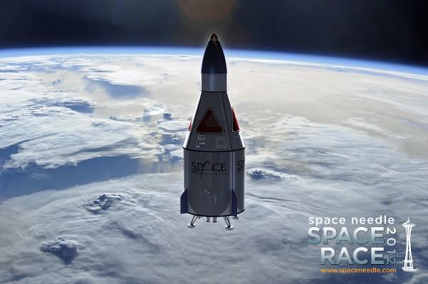 Space Needle Space Adventures 2012