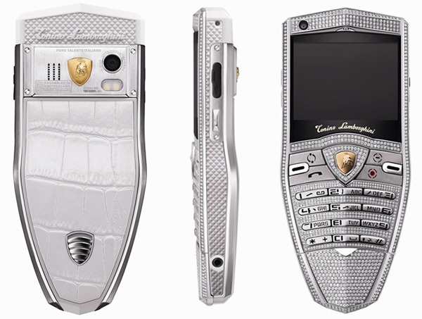 Spyder Supreme Diamond Cell Phone for Tonino Lamborghini 30th Anniversary