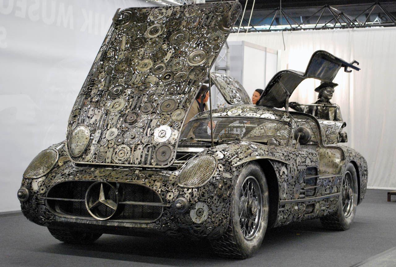 Giants of Steel Turns Scrap Metal into German Classics Cars ...