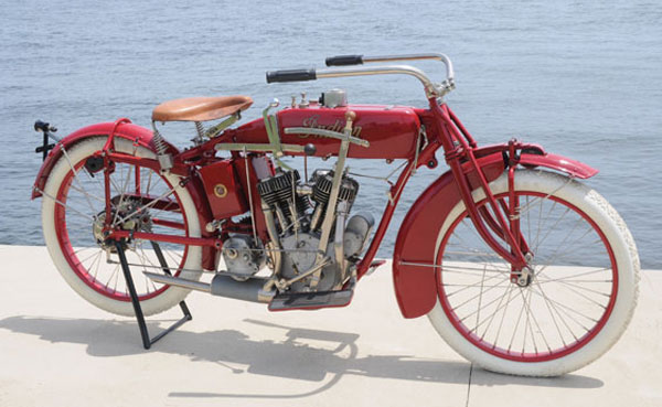1917 Indian Twin Motorcycle
