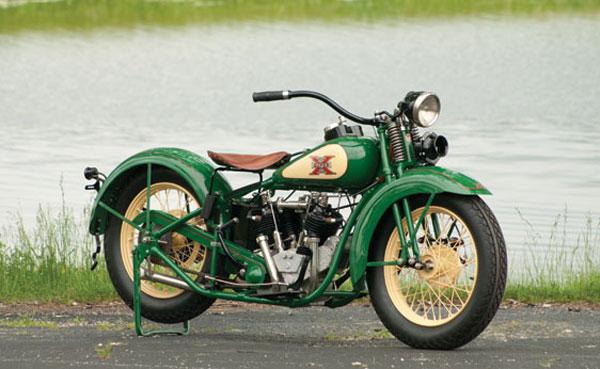 1930 Excelsior Super X Streamliner Motorcycle