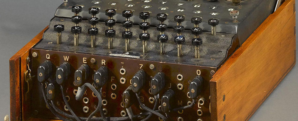 Enigma Encoding Machine Used by Nazis in WW II up for Auction