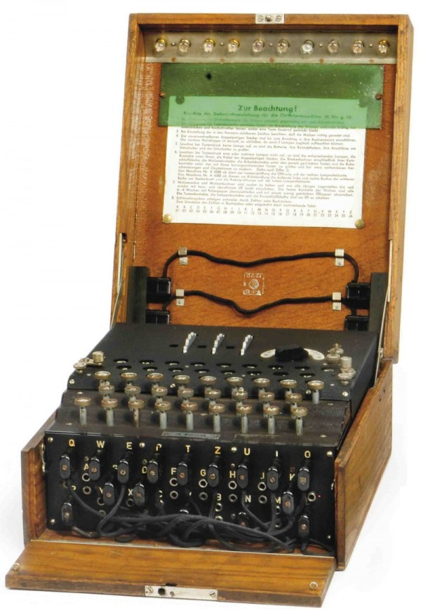 A Three-Rotor Enigma Cipher Machine